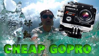 Cheap Gopro - Campark 4k 30fps Sports Camera Review