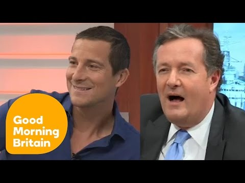 Bear Grills Piers! | Good Morning Britain