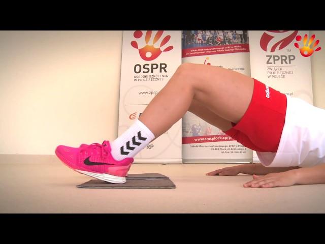 Profilaktyka urazów stawu skokowego i kolanowego (cz.1) odcinek 8