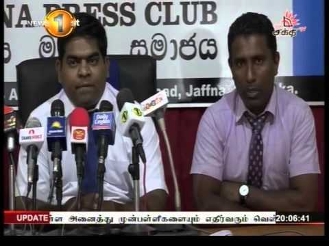 News 1st Prime time 8PM  Shakthi TV 3rd May 2016
