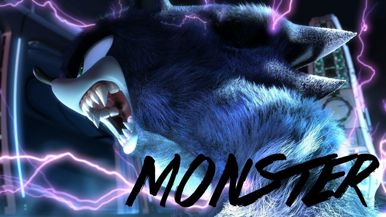 Sonic Feel Like a Monster - Music Video - YouTube