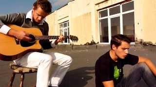 Stefan Banica Jr. feat. Marius Moga - Ce e dragostea (cover la inaltime)