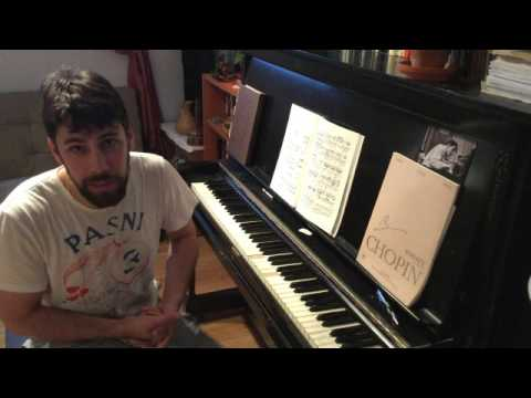 Let's Practice! Chopin Polonaise in A-flat major op. 53 (Heroic) lesson part 1