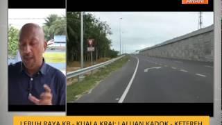 Lebuh raya Kota Bharu -  Kuala Krai: Laluan Kadok - Ketereh