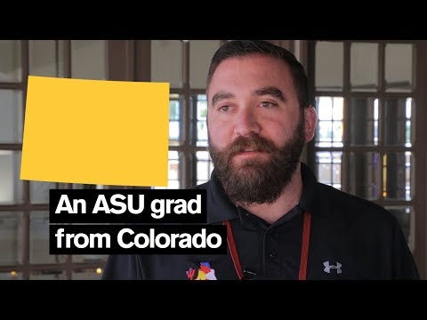 Why I came to Arizona State University:  an ASU grad from Colorado
