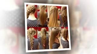 видео плетение на короткие волосы_красивое плетение волос фото