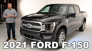 2021 Ford F-150 First Look and Details