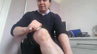 Gua sha and zheng gu shui on  knee arthritis London