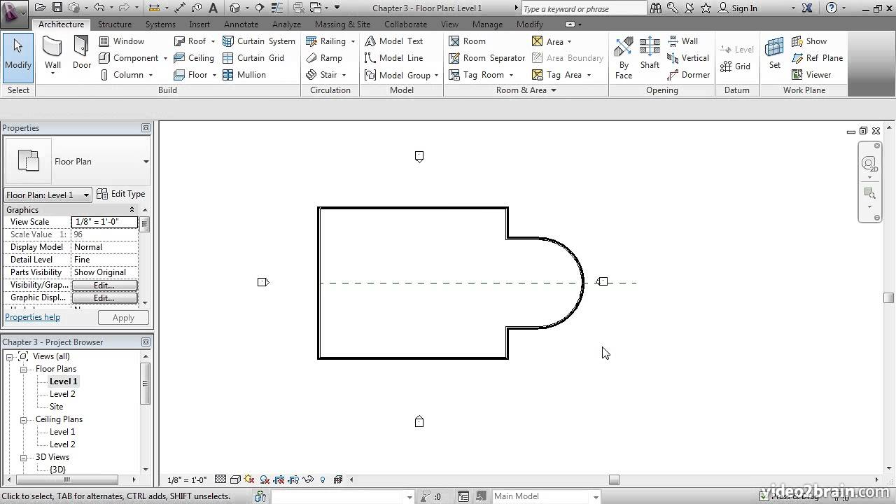 Autodesk Revit Architecture 2014 Video Tutorials