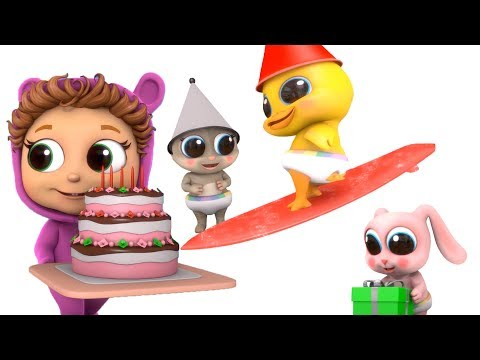 Happy Birthday Little Ducky | Educational | Learn Colors | Red | Gray | Green