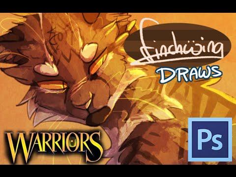 Finchwing Draws: Tigerclaw and Ravenpaw - Warriors speedpaint