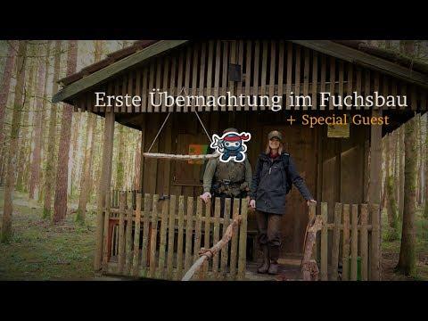 ????????????Waldhütte????#4 Die erste Übernachtung + Special Guest - Vanessa Blank