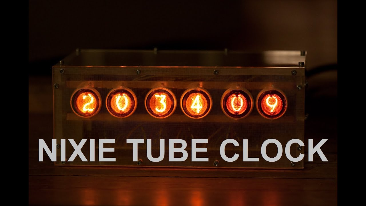 Nixie tube clock | Kaizer Power Electronics
