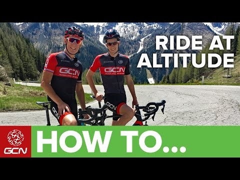 How To Ride At Altitude