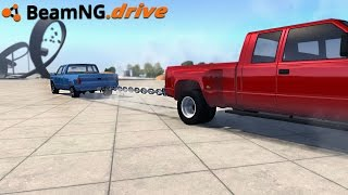 BeamNG.drive - TUG OF WAR