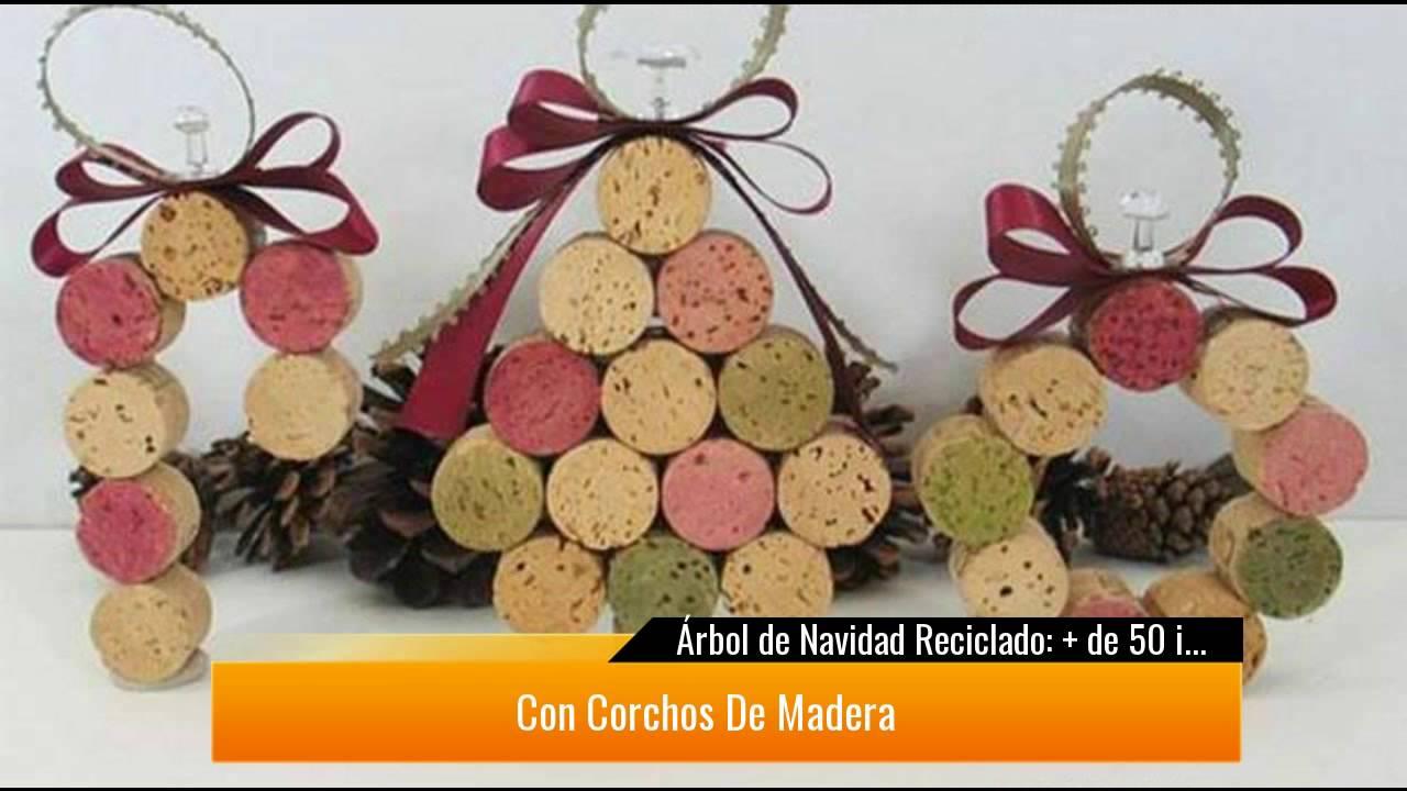 De 50 ideas de rboles de navidad con materiales - Arboles de navidad de diferentes materiales ...