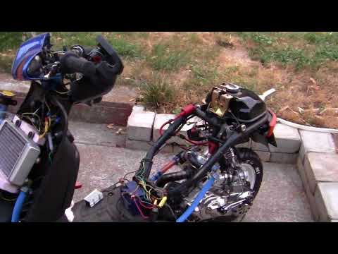 379- Operation Honda DIO= 120cc STROKER ENGINE.