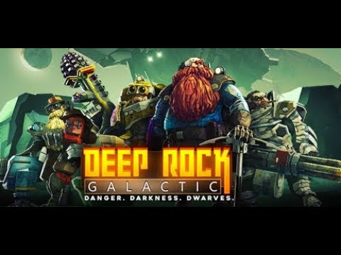 DEEP ROCK GALACTIC - Early Access - 2 Player Co-op mode (Longplay)