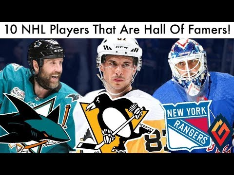 10 NHL Players That Are Hall Of Famers RIGHT NOW! (Hockey HOF Ranking & Crosby/Thornton Talk 2019)