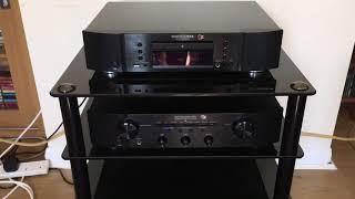 Marantz PM6006 UK Edition Integrated Amplifier, Marantz CD6006 UK edition CD Player & Harbeths 2