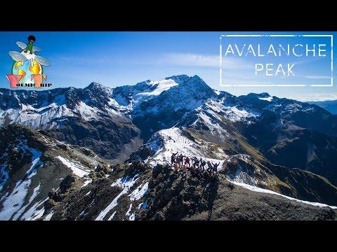 Hiking Avalanche Peak - Arthur's Pass National Park