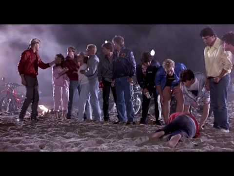 The Karate Kid (1/2) The Beach Fight (1984) HD