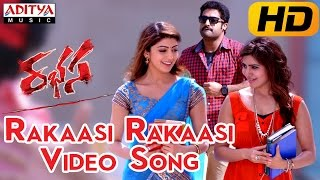 Rakaasi Rakaasi Full Video Song ||  Rabhasa Video Songs || Jr Ntr, Samantha, Pranitha