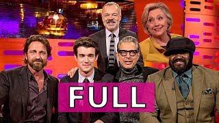 The Graham Norton Show (FULL) S22E04: Hillary Clinton, Jeff Goldblum, Gerard Butler, et al.