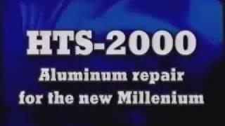 Американський безфлюсовий припій для пайки алюмінію HTS-2000. Інструкція в описі!