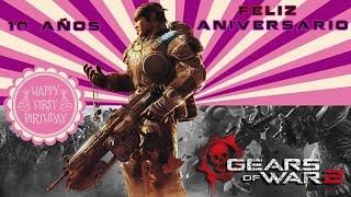 Gears of War 2 l Festejando los 10 años l Fragmento Campaña y Gameplay l Xbox One X l 4k Texturas