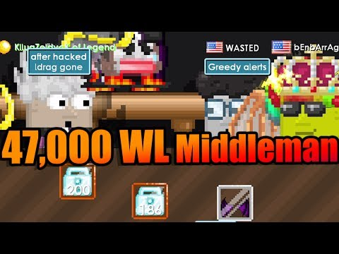 47,000 WL MIDDLEMAN [GONE WRONG] | Growtopia