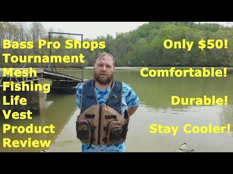Bass Pro Shops Tournament Mesh Fishing Life Vest