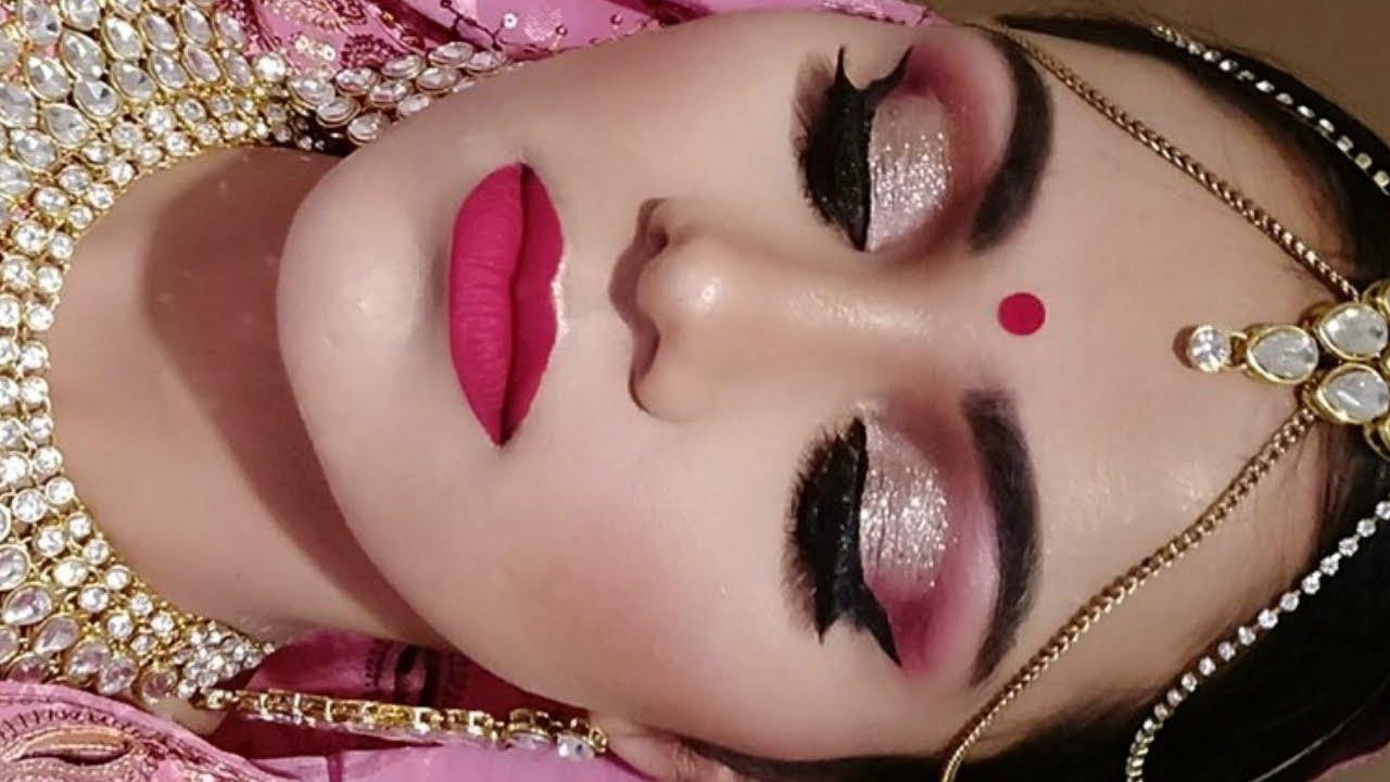 INDIAN Asian BRIDAL Makeup Tutorial In