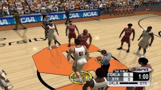 NCAA College Basketball 2K3 GameCube Gameplay HD