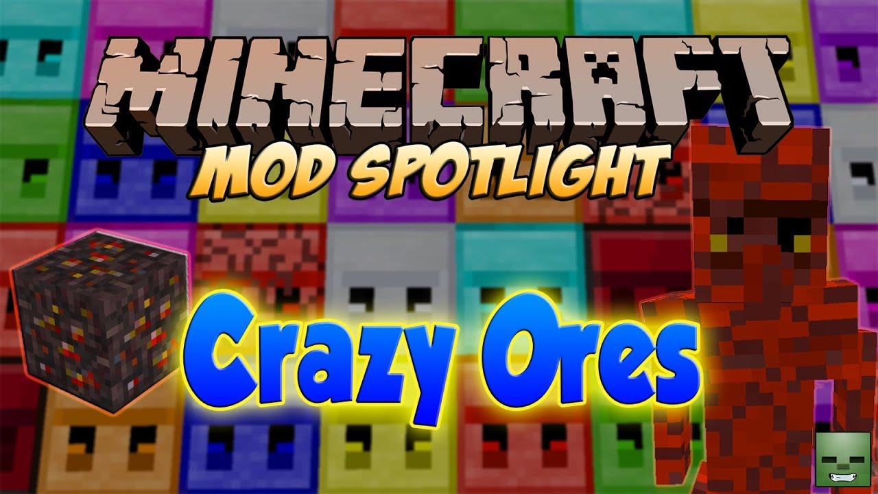 crazy craft free minecraft mods ores forge 1 6 4 1788