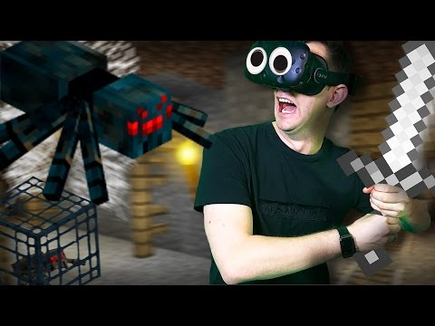 Minecraft Mixed Reality | Poisonous Cave Spiders! [Ep 8]