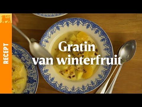 Gratin van winterfruit