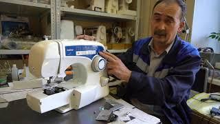 швейная машина, оверлок Brother Comfort 15 ремонт