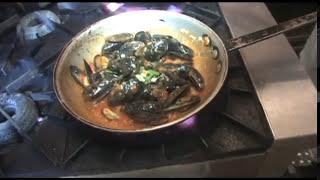 Mussels Marinara  Dinner Recipe Video.