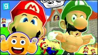 vuclip WHO'S YOUR DADDY, MARIO?? FUNNIEST VIDEO EVER!! GMOD: GUESS WHO - MARIO (Garry's Mod Funny Moments)