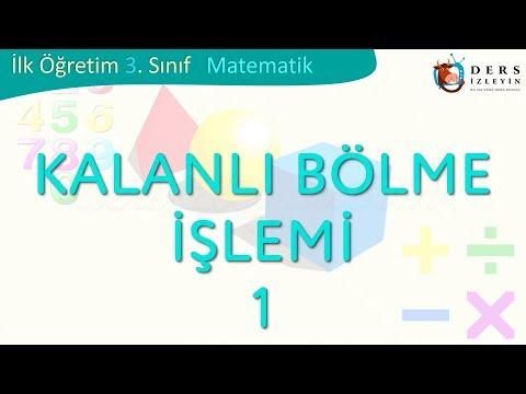 KALANLI BÖLME İŞLEMİ-1