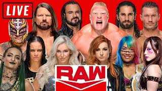 WWE RAW Live Stream May 25th 2020 Watch Along - Full Show Live Reactions