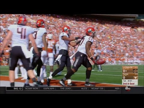 Oklahoma State vs Texas Football Highlights