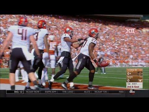 Oklahoma State vs Texas Football Highlights