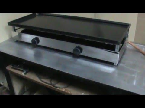 Planchas para cocinar a gas jinama mod 100 p 375 youtube - Cocinas para cocinar ...