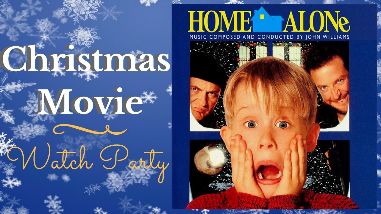 home alone reaction video christmas movie watch party - Home Alone Christmas Movie