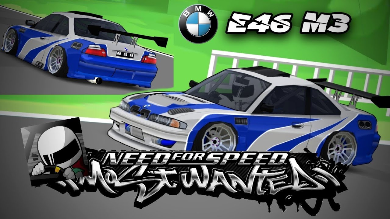 Livery Bmw E46 M3 Nfs Most Wanted Fr Legends Code Youtube