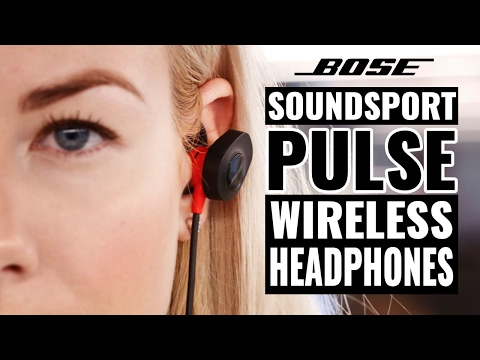 Wireless Bluetooth SoundSport Pulse Headphones by BOSE Review | The Gadget Show