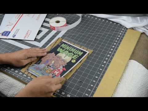 The Best and Cheapest Way to Ship Comic Books For Selling on Ebay