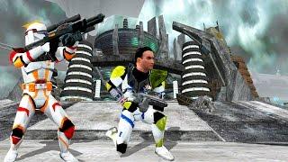 Star Wars Battlefront 2 Mods: Battles of the Storm: Mygeeto Final Thunder